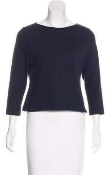 Apiece Apart Long Sleeve Knit Top