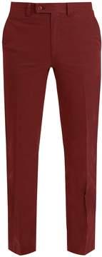 Brioni Slim-fit cotton chino trousers