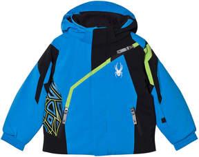 Spyder Blue Colour Block Mini Challenger Jacket
