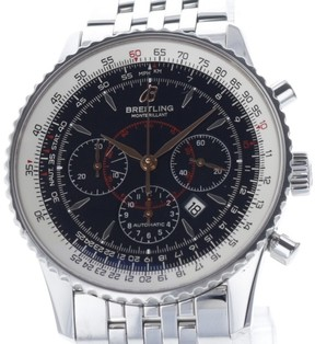 Breitling Navitimer A41370 Chronograph Stainless Steel Automatic 38mm Mens Watch