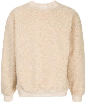 H Beauty&Youth fleece sweatshirt