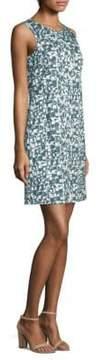 Peserico Abstract-Print Dress