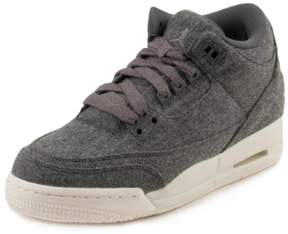 Nike Boys Jordan 3 Retro Wool BG Dark Grey 861427-004