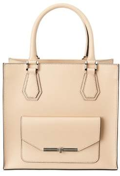 BCBGMAXAZRIA Shay Convertible Leather Tote
