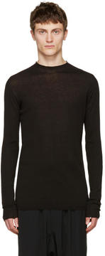 Rick Owens Black Level Lupetto Pullover