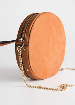 Small Leather Circle Bag