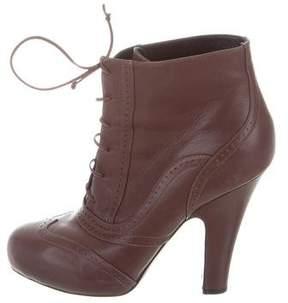 Bottega Veneta Brogue Ankle Boots