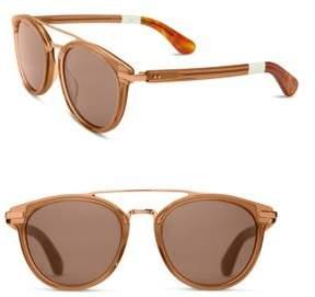 Toms 51MM Round Sunglasses