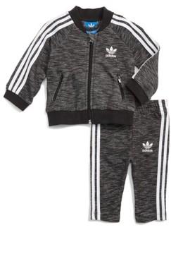 adidas Infant Boy's Superstar Track Jacket & Pants Set