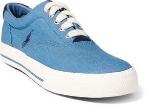 Ralph Lauren Vaughn Denim Low-Top Sneaker