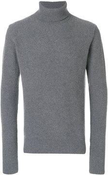 Officine Generale ribbed knit turtleneck sweater