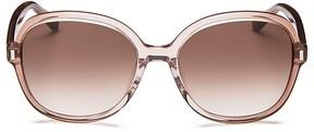 Bobbi Brown The Collins Square Sunglasses, 56mm