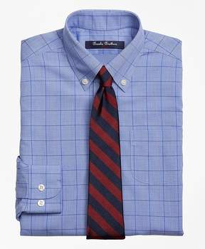Brooks Brothers Non-Iron Supima® Cotton Broadcloth Plaid Dress Shirt