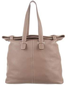 Hermes Clemence Travel Tote - NEUTRALS - STYLE