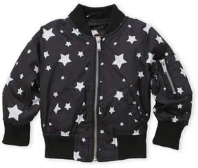 Urban Republic Infant Girls) Star Bomber Jacket