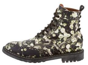 Givenchy Leather Baby's Breath Boots