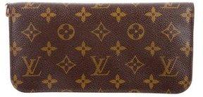 Louis Vuitton Monogram Insolite Wallet - BROWN - STYLE