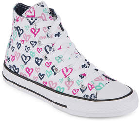 Converse Chuck Taylor All Star Hi Girls Sneakers - Little Kids/Big Kids