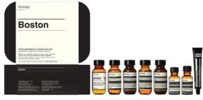 Aesop Boston Hair & Body Care Travel Kit