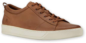 Andrew Marc Whiskey & White Darwood Leather Sneaker - Men
