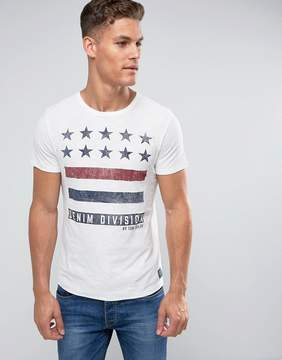 Tom Tailor Crew Neck T-Shirt With Print