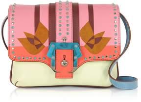 Paula Cademartori Geranium Pink Gigi Love Shoulder Bag