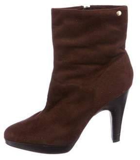Isaac Mizrahi Suede Ankle Boots