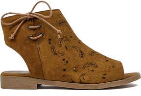 Coolway Cue Topaz Suede Sandal - Women