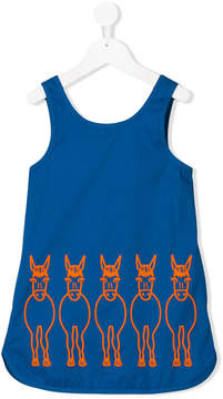 Stella McCartney Raisins Donkey print dress