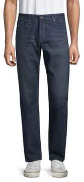 AG Jeans Tailored Leg Cotton Jeans