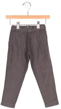 Emile et Ida Boys' Linen-Blend Pleated Pants w/ Tags
