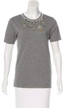Matthew Williamson Embellished Knit T-Shirt