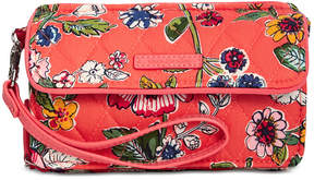 Vera Bradley Rfid All-in-One Crossbody - CORAL FLORAL - STYLE