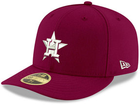 New Era Houston Astros Low Profile C-dub 59FIFTY Fitted Cap