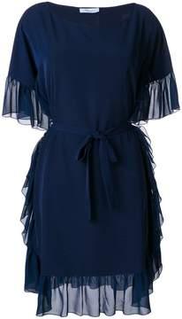 Blumarine rouche trimmed dress