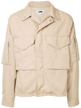H Beauty&Youth military pocket jacket