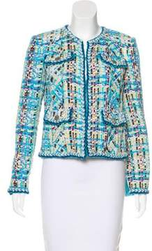 Chanel 2017 Paris-Cuba Tweed Muslin Jacket