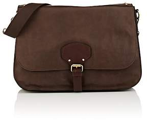 Barneys New York MEN'S LEATHER MESSENGER BAG