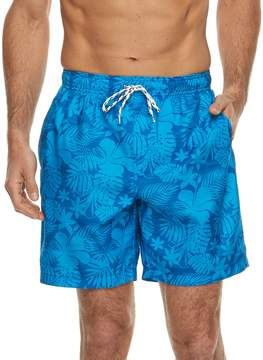 Croft & Barrow Men's Tropical Printed Swim Trunks