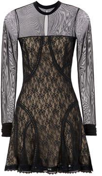Alexander Wang Lace Paneled Dress