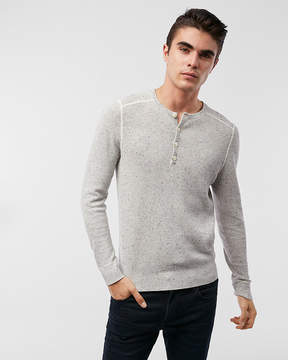 Express Cotton Henley Sweater