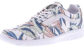 Vans Iso 1.5 Tropical Leaves True White / Ankle-High Canvas Skateboarding Shoe - 9.5M 8M