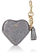 Anya Hindmarch WOMEN'S HEART CRINKLED LEATHER COIN PURSE