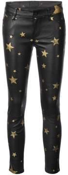 RtA star-print skinny trousers