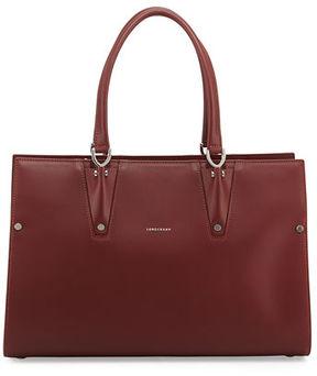 Longchamp Paris Premier Large Tote Bag - RED LACQUER - STYLE