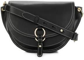 Tila March contrast trim shoulder bag