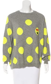 Chinti and Parker Cashmere Intarsia Sweater