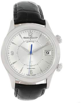 Jaeger-LeCoultre Jaeger Lecoultre Master Memovox 174.8.96 Q1418430 Stainless Steel & Silver Dial 40mm Mens Watch