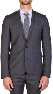 Christian Dior Men's Virgin Wool Two-Button Skinny Lapel Suit Grey
