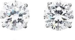 Crislu Cubic Zirconia Stud Earrings